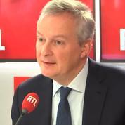 «Gilets jaunes» : Bruno Le Maire prévoit une baisse de croissance