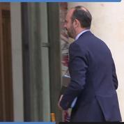 Emmanuel Macron reçoit les corps intermédiaires à l'Elysée