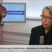 Elisabeth Borne est l'invitée de la matinale Radio Classique – Le Figaro