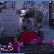 Un an après la mort de Johnny, ses fans lui rendent hommage à St-Barthélémy