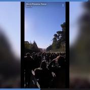 Aix-en-Provence : les lycéens manifestent