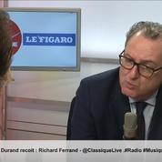 Richard Ferrand est l'invité de la matinale Radio Classique – Le Figaro