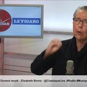 Grève du transport routier : «Soit c'est un malentendu, soit c'est un mauvais prétexte» pour Elisabeth Borne