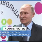 Poutine menace de développer de nouveaux missiles