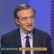 Hervé Mariton : « Soljenitsyne porte un jugement sévère sur ce qu'est l'Occident aujourd'hui. »