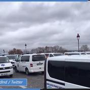 Paris : manifestation des ambulanciers place de la Concorde