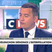 Gérald Darmanin: «Je trouve tout à fait normal que la police puisse arrêter les gens qui commettent des actes délictueux»
