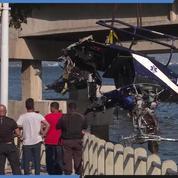 Un hélicoptère de la police s'écrase dans la baie de Rio de Janeiro