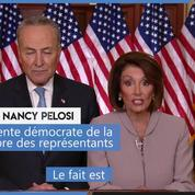 «Trump prend les Américains en otage», selon Nancy Pelosi, présidente de la Chambre des représentants
