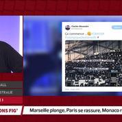 Ligue 1 : Marseille sombre, Paris se rassure, Monaco respire