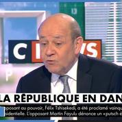 Gilets jaunes : « Face à ce déferlement de violences, il y a des risques pour la démocratie » selon Jean-Yves Le Drian