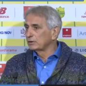 Sala : «Pour moi, arrêter comme ça (les recherches), c'est insupportable» s'est ému Vahid Halilhodžić