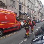 Une explosion avec un incendie dans le 9e arrondissement de Paris
