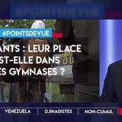 Migrants : leur place est-elle dans les gymnases ?