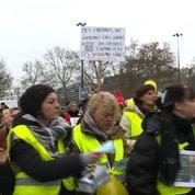 Des femmes « gilets jaunes » se sont rassemblées à Paris