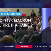 +6 points : Emmanuel Macron est-il tiré d'affaire ?