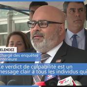 Condamnation de Joaquin Guzman, alias