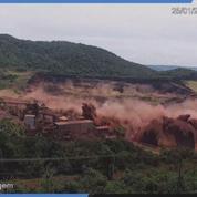 Brésil : Les images de la rupture du barrage de Brumadinho