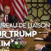 Donald Trump et Kim Jong Un évoquent un projet de bureau de liaison à Pyongyang