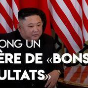 A Hanoï, Kim Jong Un espère «de bons résultats»