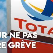Total : des salariés belges payés pour ne pas faire grève