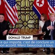 Donald Trump : «Nous voulons un accord juste, la vitesse importe peu»