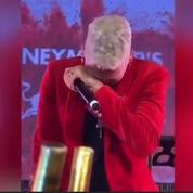 Neymar fond en larmes lors de son anniversaire