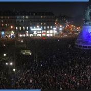 Rassemblement contre l'antisémitisme à Paris : la place de la République noire de monde