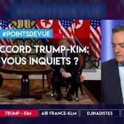 Pas d'accord Trump-Kim : êtes-vous inquiets ?