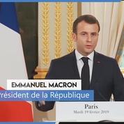 Macron sur l'antisémitisme : « C'est à la République de défendre les Juifs »