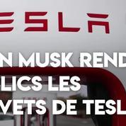 Elon Musk rend publics les brevets de Tesla pour lutter contre le changement climatique