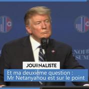 Israël : Donald Trump loue «l'excellent travail» de Netanyahu