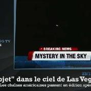 Un OVNI dans le ciel de Las Vegas sème la panique sur les chaînes de télévision américaines
