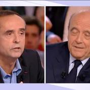 L'émission politique : échange tendu entre Robert Ménard et Alain Juppé