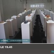 Zapping TV : elle fait en selfie dans un musée et détruit 170.000 euros d'oeuvres d'art
