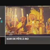 Zapping TV: Stephane Bern défile au carnaval de Rio