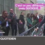 Zapping TV : Edouard Philippe taquiné par un visiteur aux Journées du patrimoine
