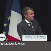 Zapping TV : le lapsus d'Emmanuel Macron pendant un discours à New York