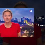 Zapping TV : l'étonnant lancement d'Anne-Sophie Lapix au 20h sur la Coupe du monde