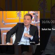 Zapping TV : Laurent Baffie traite Christine Angot de