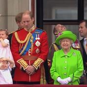 Anniversaire Elizabeth II : la petite Charlotte était de la fête