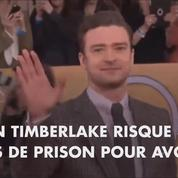Justin Timberlake risque la prison pour un selfie pris dans l'isoloir