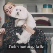 Olivia Palermo et son chien Butler préparent Noël