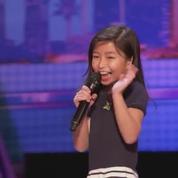 À 9 ans, elle chante déjà comme Céline Dion