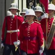 Megan Couto, 24 ans, capitaine de la garde de la reine d'Angleterre
