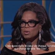 Golden Globes 2018 : extrait du discours d'Oprah Winfrey
