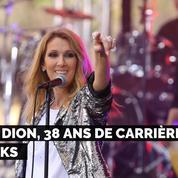 Céline Dion, 38 ans de carrière et de looks