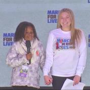 La petite-fille du révérend Martin Luther King illumine la Marche pour nos vies