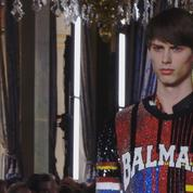 Défilé Balmain mode homme printemps-été 2019