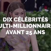 Ils sont riches et célèbres et ont moins de 25 ans